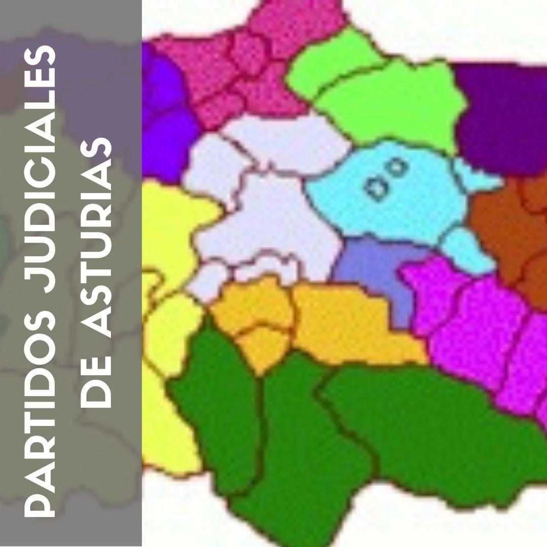Partidos Judiciales de Asturias