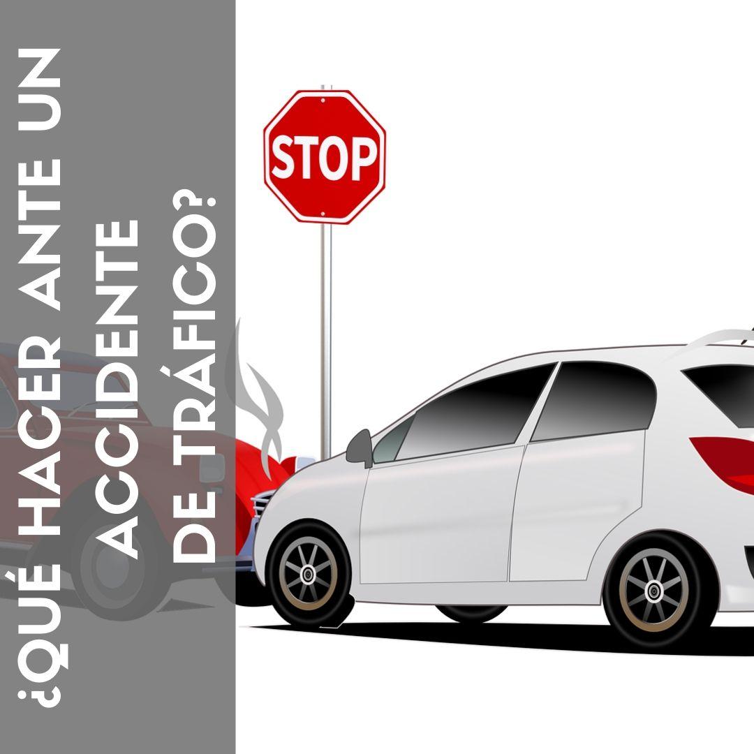 Tráfico: ¿Qué hacer ante un accidente?