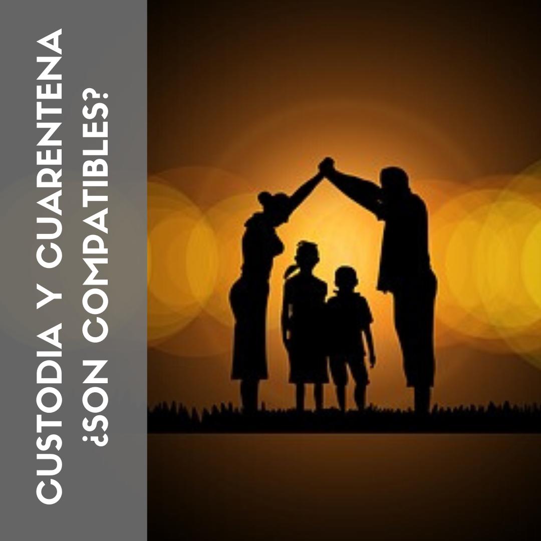 Custodia y Cuarentena ¿Son compatibles?