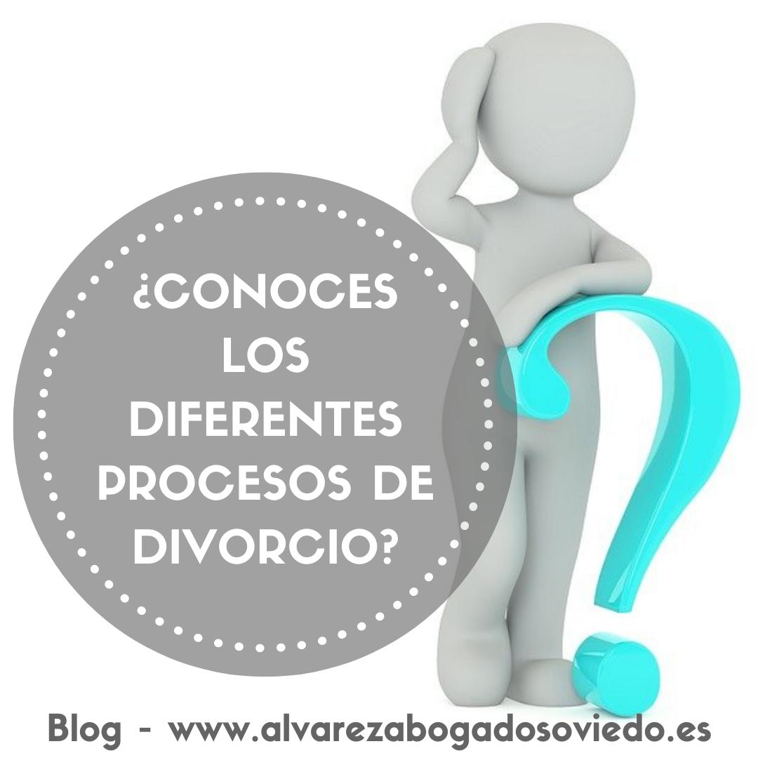 Los procesos de divorcio: